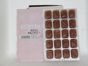 Nourriture congelée Krill 100 gr emballé par 10 blisters