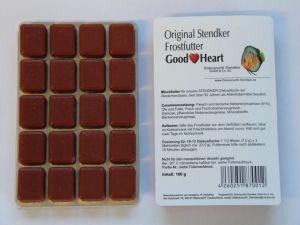 Nourriture congelé Stendker blister de 100 grammes emballé par 20 pièces