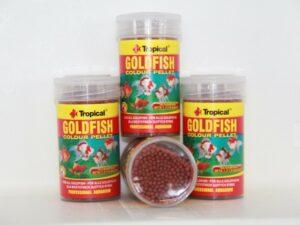 Goldfish colour pellet met astaxantine in pot van 36g/100ml